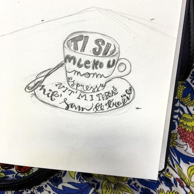 Ako ćemo iskreno  #typelove #lettering #letters #lovetype #typography #handlettering #letter #brushlettering #brushcalligraphy #calligraphy #moderncalligraphy #design #draw #coffee #coffeelife #coffeelover #coffeeaddict #espresso #type #handmadetype #designlove #creative #creativity #designspiration