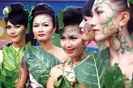 Jember a small town in East Java but have a big Fashion Carnival.