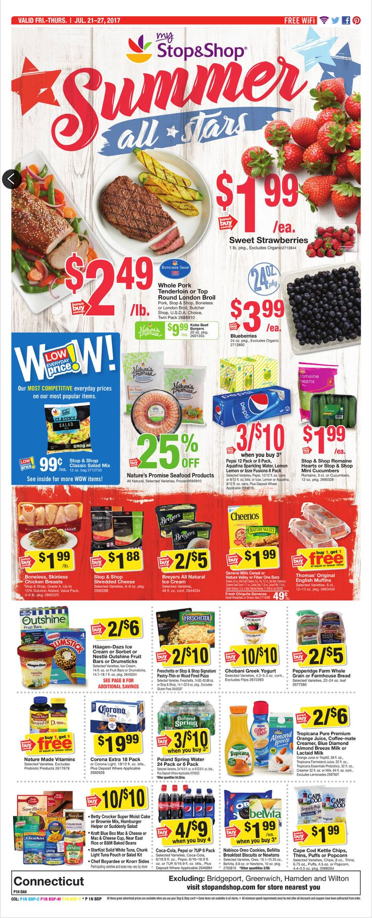 Stop and Shop Circular July 21 - 27, 2017 - http://www.olcatalog.com/grocery/stop-and-shop-circular.html
