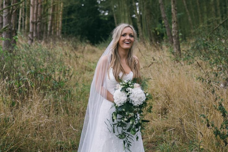 A Pronovias Dress For A Timeless, Classic, Woodland Fairytale Inspired Wedding