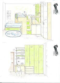 BONETTI CAMERETTE   BONETTI BEDROOMS: PROGETTI CAMERETTE PICCOLE
