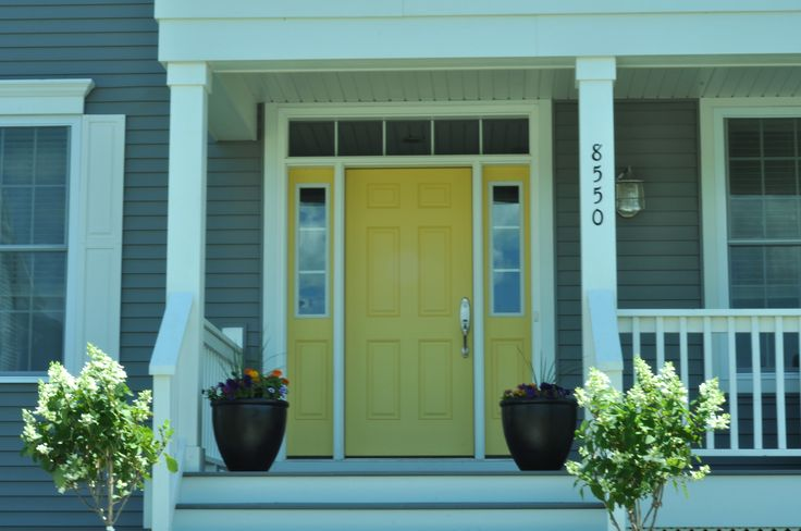 42 Best Images About Front Door Color Gray House Black Shutters On Pinterest Blue Doors Front