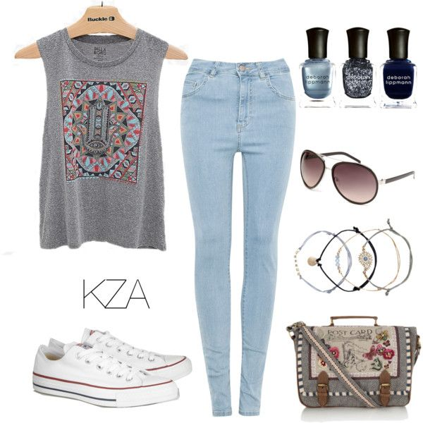 Street Style. Grey kinda day? Check out my polyvore for more ideas!