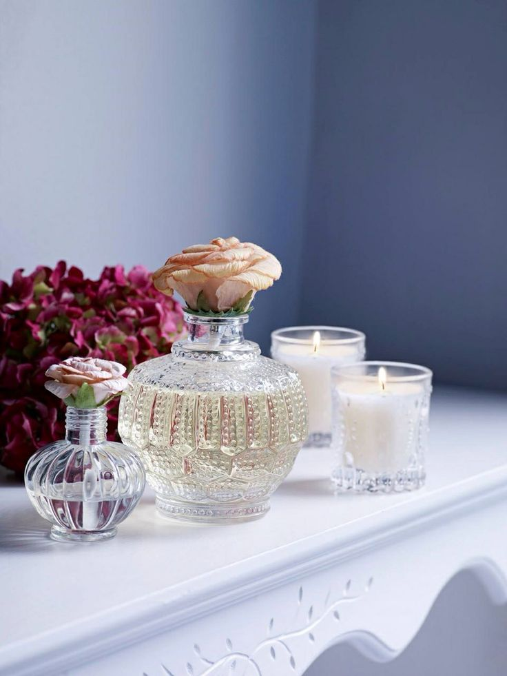 Create a calm ambience with a beautiful scented candle. From fresh lemongrass and ginger, to elderflower, you'll find plenty of delicious scents to choose from. #SS14 #HOFatHOME