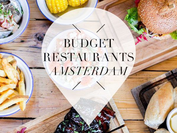 Do you wanna go out for dinner on a budget? We found 20 x the coolest budget restaurants in Amsterdam for you. Read more about the budget spots >>