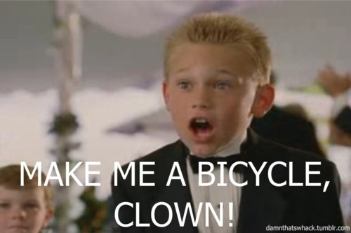 Image result for make me a bicycle clown