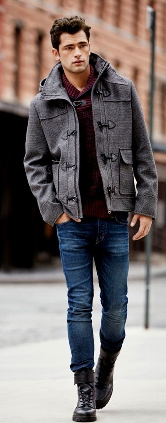 That jacket Doe!!! Wish I lived somewhere where wearing these many layers was appropriate.