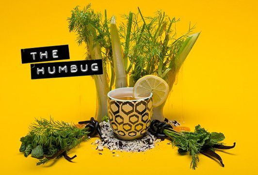 The Humbug | T2 Tea 2 scoops Madagascan Vanilla 2 scoops Terrific Toffee 1 scoop Liquorice Legs Add teas to the infuser of a 500ml teapot, pour boiling water over the leaves and allow to brew for 2 minutes. Remove the infuser, discar d the leaves and serve. Bend the rules: Add ice for a sweet refreshing brew or a dash of honey as a treat.