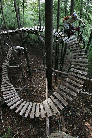 Pallet track. Have you lived on the edge this summer?