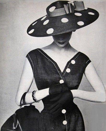 Polka Dot chapeau