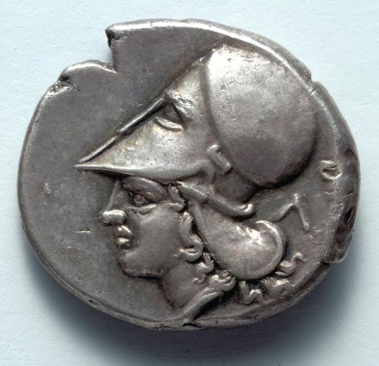 Corinthian Stater: Athena (reverse), c. 380 BC Greece, 4th Century BC