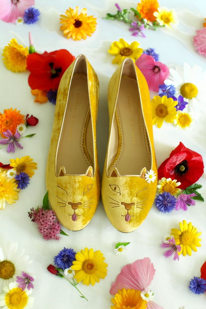 The Cherry Blossom Girl - Charlotte Olympia Cheeky Kitty 03