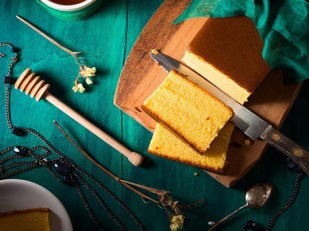 """Японский бисквит """"Кастелло"""" - кулинарный пошаговый рецепт с фото на KitchenMag.ru"""