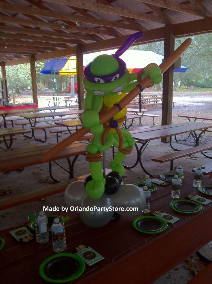 Teenage Ninja Mutant Turtles Balloon Art