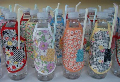 Bee In My Bonnet: Tie an Apron on ...your Water Bottle!
