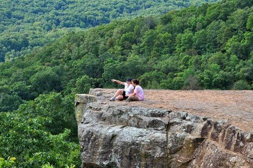 Yellow Rock Trail - Devil's Den State Park - Arkansas Hiking Trails