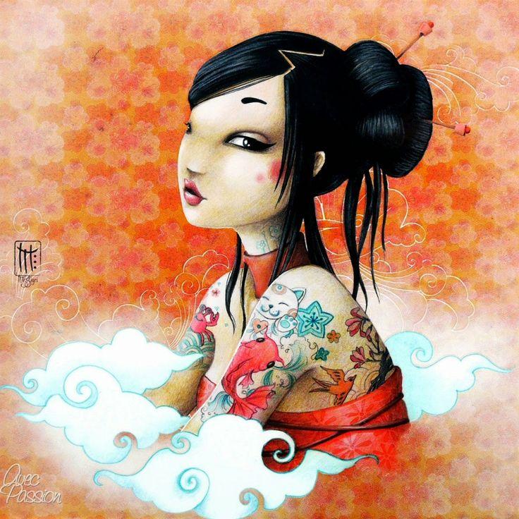 Misstigri...   Kai Fine Art