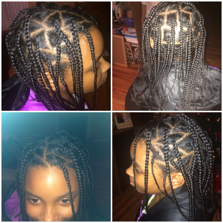 Box braids for little girls | My Style | Hair styles ...