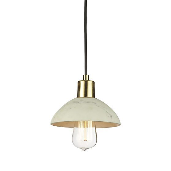 Hirsch Marble Pendant Light