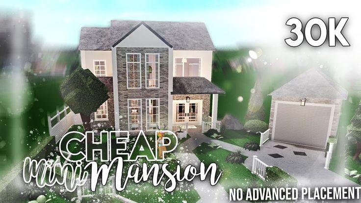 Roblox Bloxburg 30k Cheap Mini Mansion No Advanced