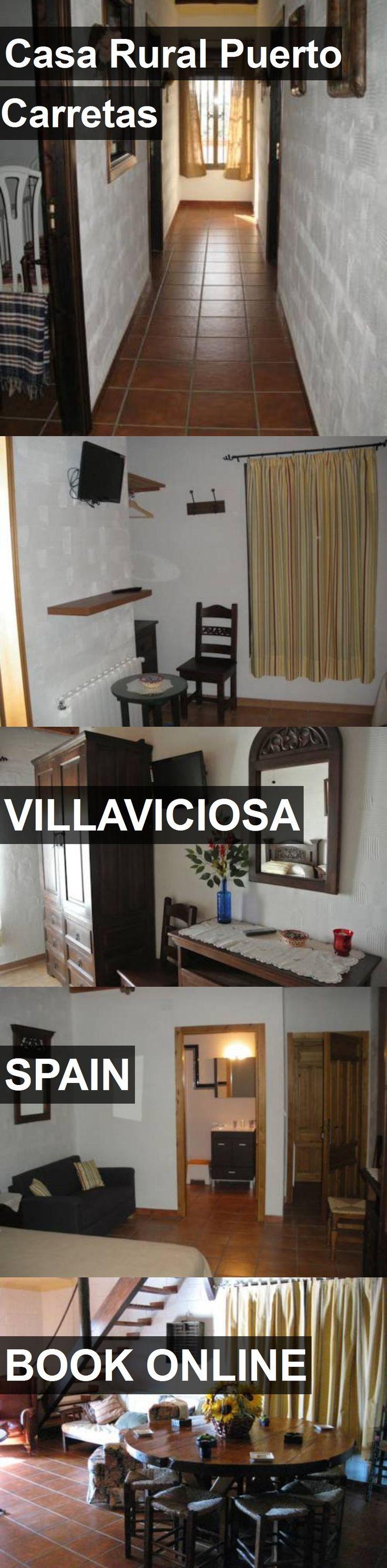 Hotel Casa Rural Puerto Carretas in Villaviciosa, Spain. For more information, photos, reviews and best prices please follow the link. #Spain #Villaviciosa #travel #vacation #hotel