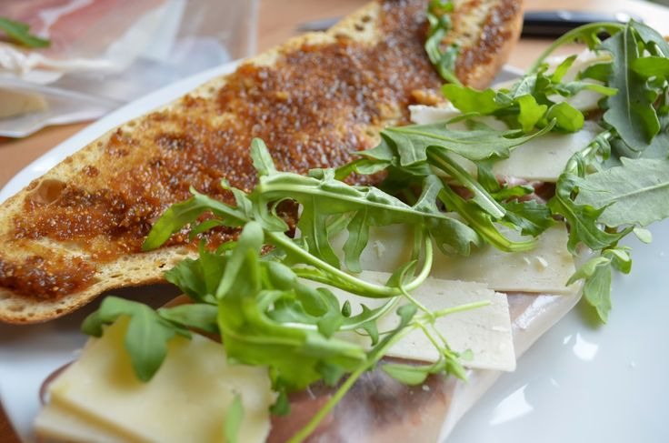 Stuff and Spice: Prosciutto and Fig Spread Sandwich