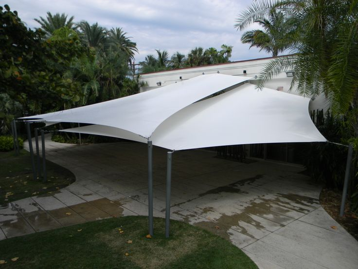 Tension Fabric Awning, Miami Beach Botanical Gardens