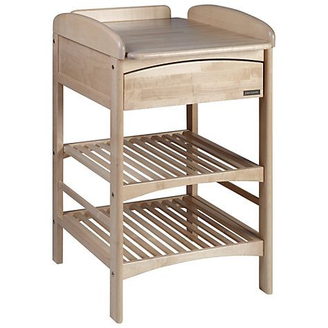 John Lewis Anna Changing Table With Drawer, Natural Online At Johnlewis.com