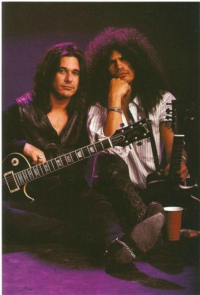 Guns N' Roses - Gilby Clarke & Slash.
