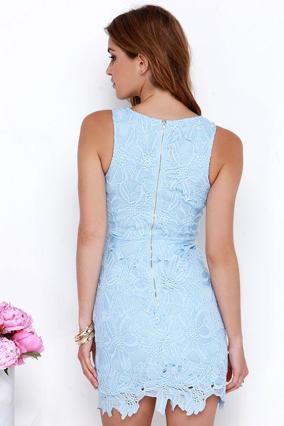 25  best ideas about Light blue lace dress on Pinterest | Blue ...