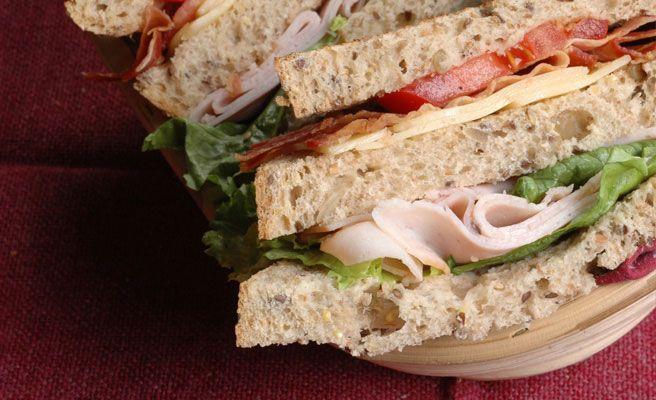 Multigrain Ham Salad Sandwich
