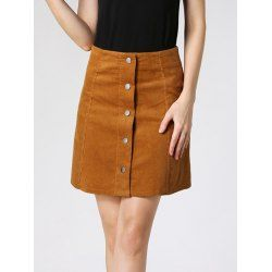 SHARE & Get it FREE   High Waist Buttoned Corduroy SkirtFor Fashion Lovers only:80,000+ Items • New Arrivals Daily • FREE SHIPPING Affordable Casual to Chic for Every Occasion Join RoseGal: Get YOUR $50 NOW!