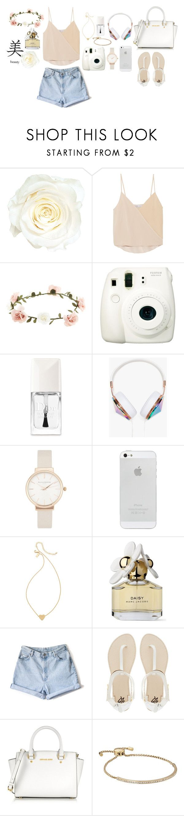 """""""Spring is here ❤️"""" by barbara-pinheiro ❤ liked on Polyvore featuring Chelsea Flower, Accessorize, Fuji, Christian Dior, Frends, Olivia Burton, Kate Spade, Marc Jacobs, 2b bebe and Michael Kors"""