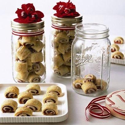 Envasado de comida en tarros de cristal  -  package cookies in mason jars