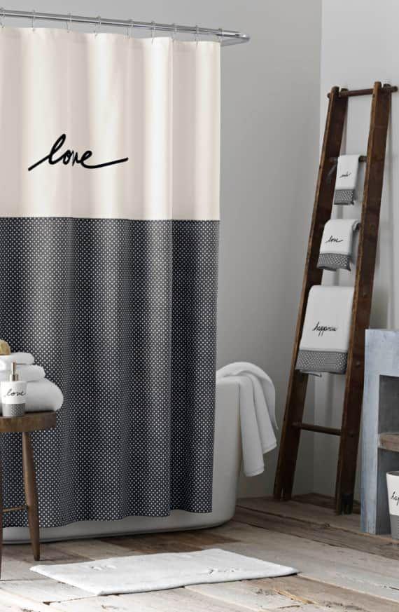 Ed By Ellen Degeneres Love Shower Curtain Affiliate