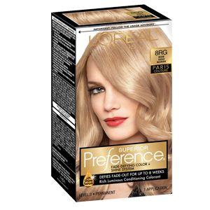 Superior Preference® 8RG Rose Gold Blonde - Permanent
