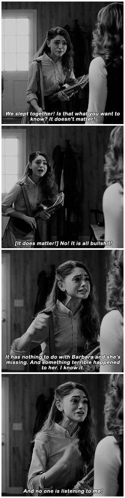 #stranger things #nancy wheeler #1x04
