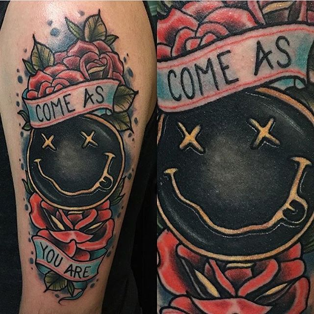 Best 25+ Kurt cobain tattoo ideas on Pinterest | Nirvana lyrics ...