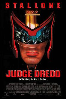 Judge Dredd is a 1995 American science fiction action film directed by Danny Cannon, and starring Sylvester Stallone, Diane Lane, Rob Schneider, Armand Assante, and Max von Sydow. The film is based on the strip of the same name in the British comic 2000 AD.