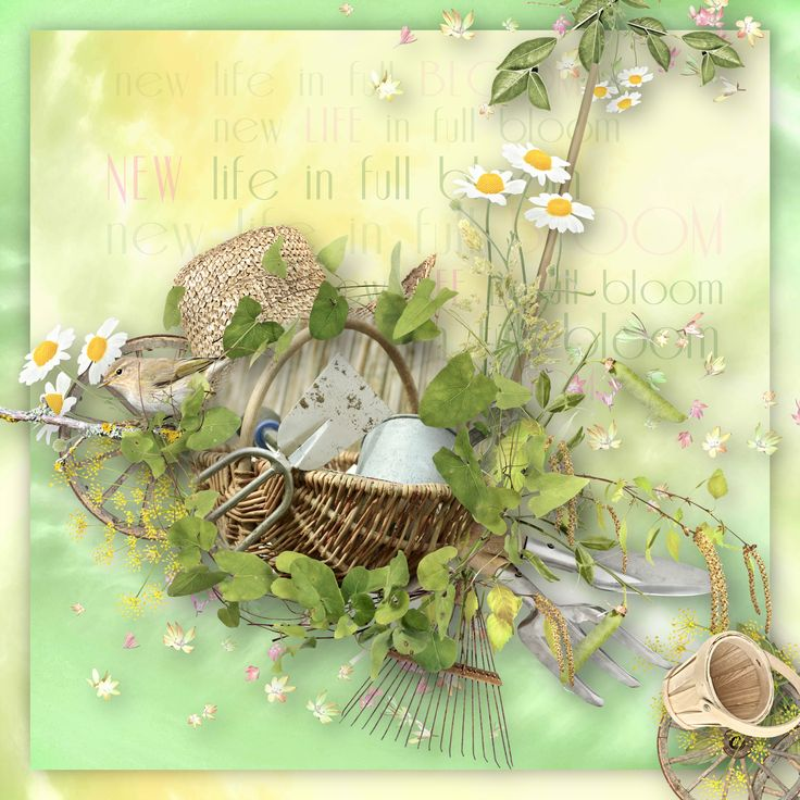 """""""Spring Spirit"""" by Doudou's Design, http://www.digiscrapbooking.ch/shop/index.php?main_page=product_info&cPath=22_236&products_id=25762, photo Pixabay"""