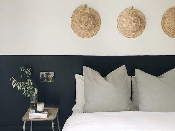 290 best archi chambre images on Pinterest Bedrooms, Apartments - meilleure peinture pour plafond