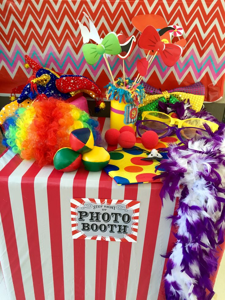 Carnival Party Photo Booth