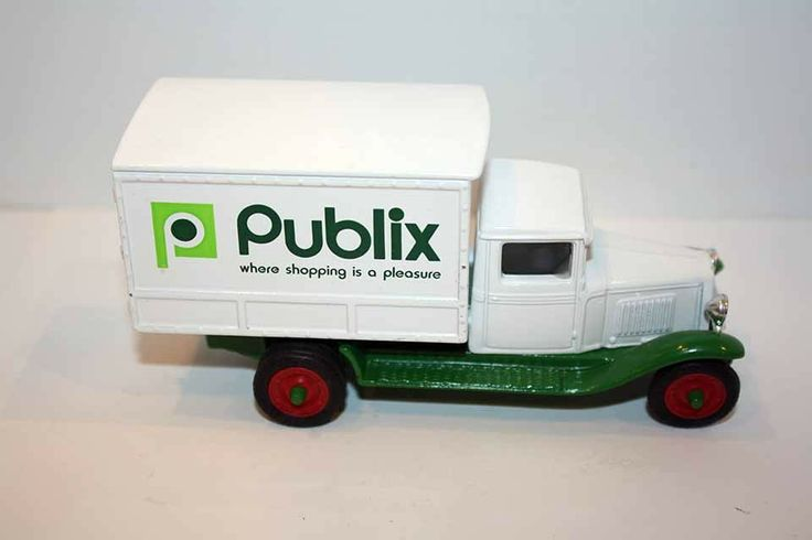 ERTL 1930 CHEVY DELIVERY TRUCK PUBLIX STORE HEAVY DIE CAST 1991 LIMITED EDITION