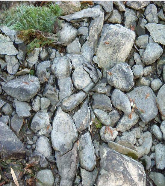 Stone Woman- punishment? burial?