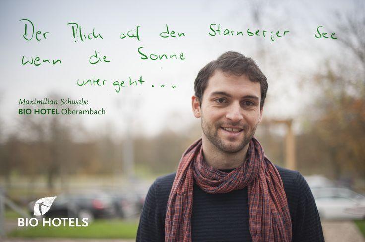 Maximillian Schwabe, Ihr Gastgeber im Biohotel und Vitalzentrum am Starnberger See in Bayern Schlossgut Oberambach ****