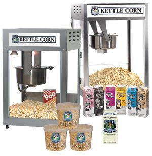 Learn how to make great tasting, high selling Kettle Corn!