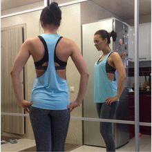 2017 Women Yoga Shirts Tops  Fitness Sports Vest Sleeveless Shirts Tops Gym Clothes Sport Shirt For Gym Camiseta Running Shirt //Price: $US $4.99 & FREE Shipping //     #yoga_pants