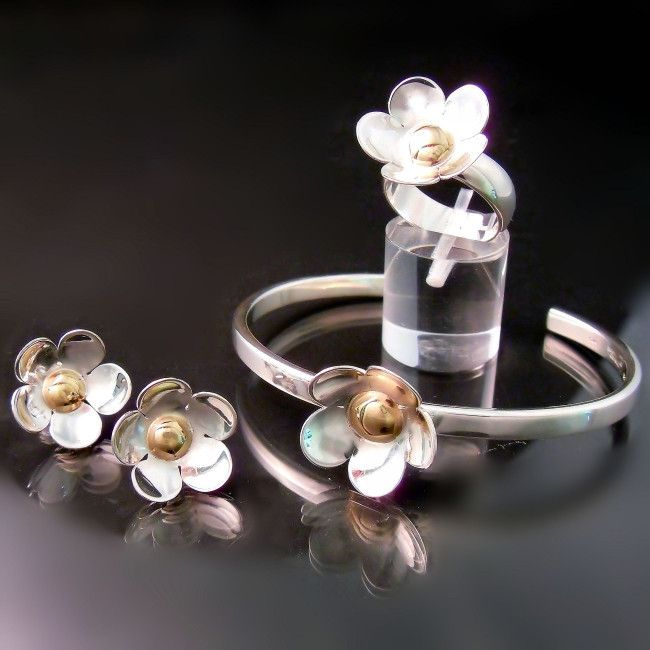 13 best Flower Nature Inspired Jewelry images on Pinterest