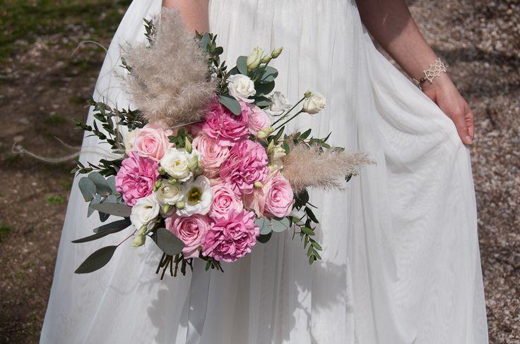 Bukiet Ślubny #slub #ślub #wedding #zielonenabialym #bukietslubny #slubneinspiracje #flowers #boho #bohemian
