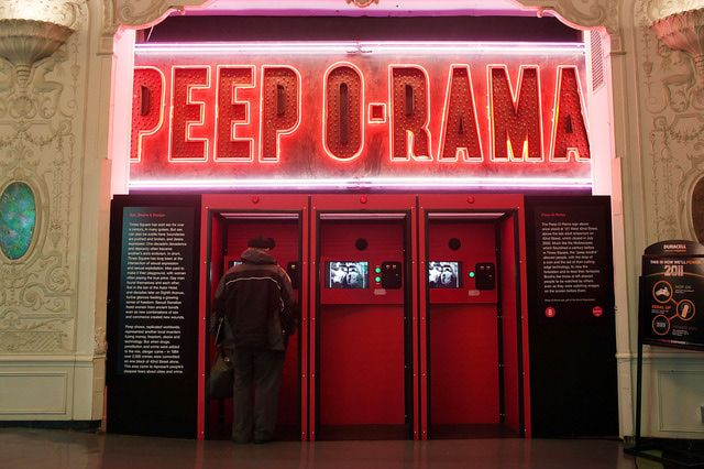 Peep Shows Through History: From Classic Erotica Through 1970s Smut: Refurbished & Sanitized: The Peep Show Returns to Times Square